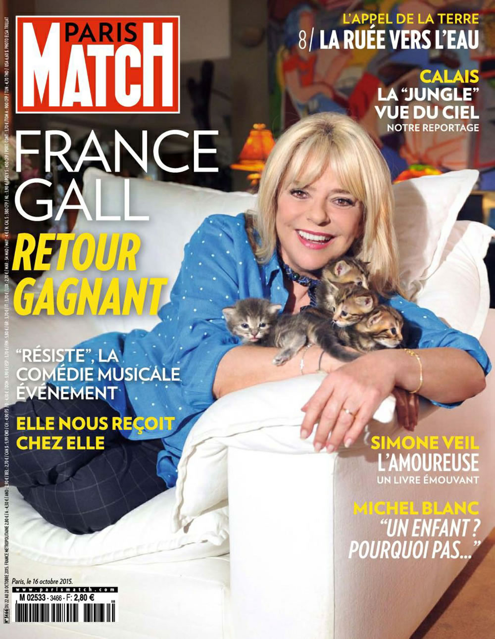 Paris Match - 22/10/2015